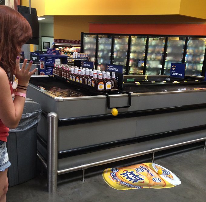 Summer Fun with New Juicy Fruit Bubble Gum #JuicyFruitFunSide #shop @Walmart