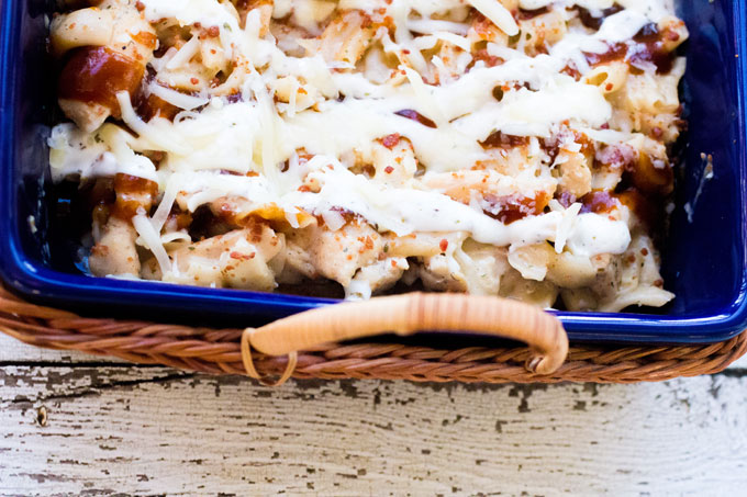 Simple Dinners: Ranch BBQ Cheesy Skillet Dinner #RollIntoSavings #shop