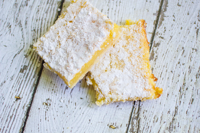 Gooey Lemon Bars