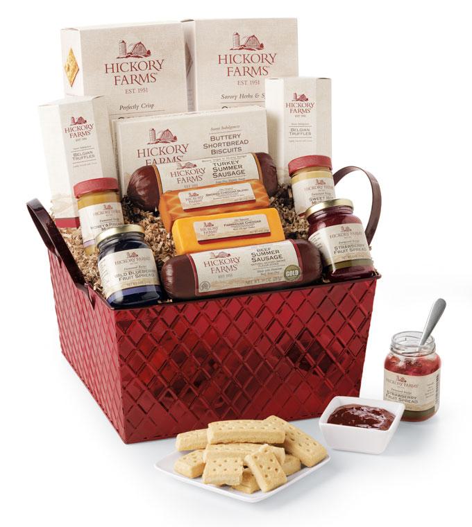 Savory-&-Sweet-Holiday-Gift-Basket