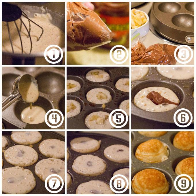 Stuffed-Banana-Peanut-Butter-Chocolate-Ebelskivers-Step-By-Step