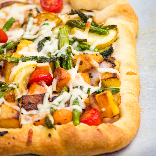Garden Vegetable Tart