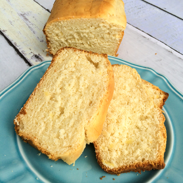 Two Ingredient Ice Cream Bread