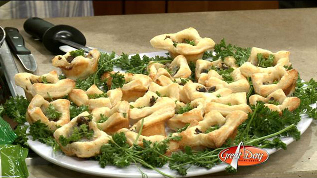 KMOV Great Day St. Louis WeWalka Mushrrom and Brie Brunch Bites Recipe