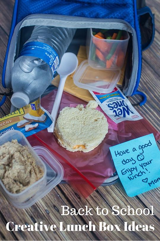 Back to School Creative Lunchbox Ideas #WishIHadAWetOnes #ad