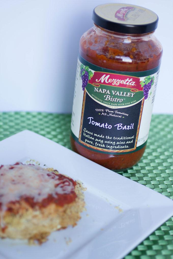 Easy Weeknight Garlic Chicken Parmesan