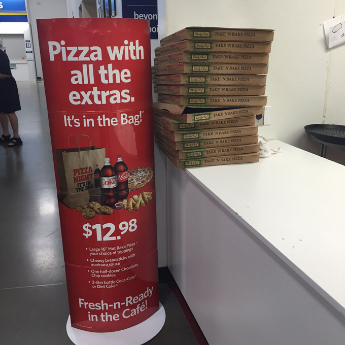 Meal Planning Made Easy With Sam's Club Family Pizza Combo #FamilyPizzaCombo #ad @SamsClub
