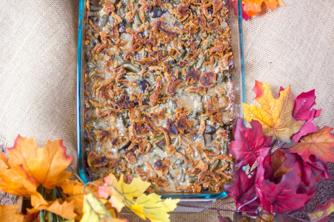 Gouda-Bacon-and-Portabella-Mushoom-Green-Bean-Casserole