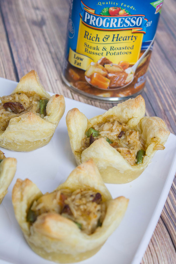 Steak and Roasted Russet Potato Cups #foodforyourmood #sponsored