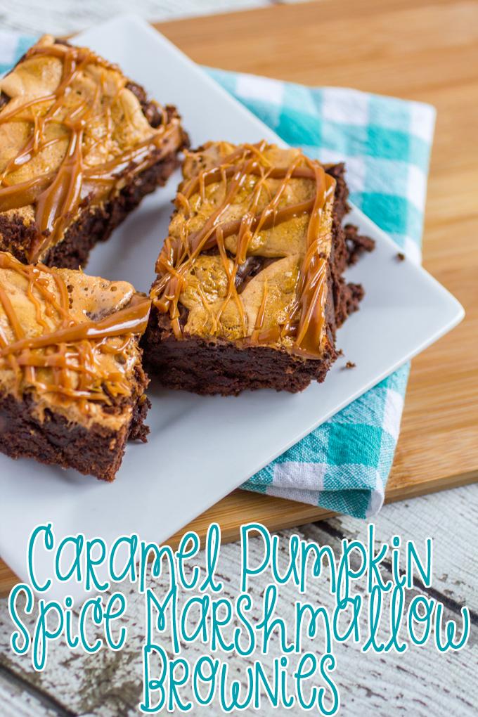 Caramel-Pumpkin-Spice-Marshmallow-Brownies