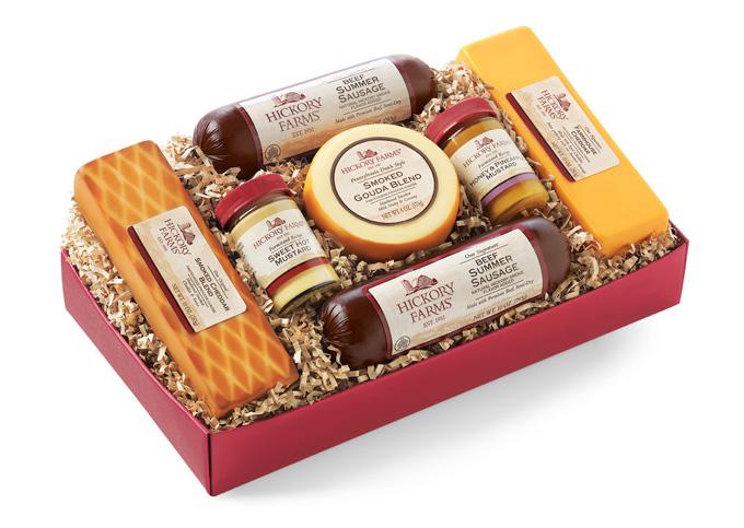 Summer Sausage & Cheese Gift Box