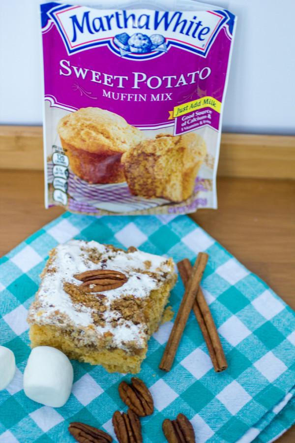 Sweet Potato Casserole Coffee Cake #ad