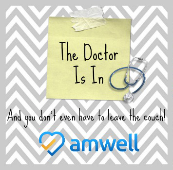 5 Simple Reasons to See a Doctor In Your Own Home - Amwell #MomsLoveAmwell