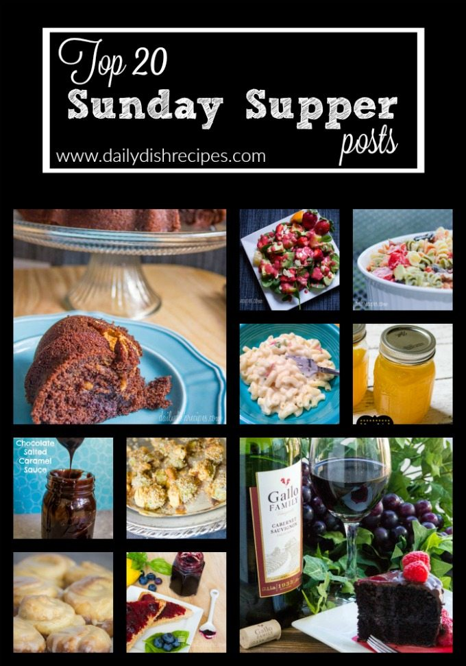 Top Sunday Supper Posts